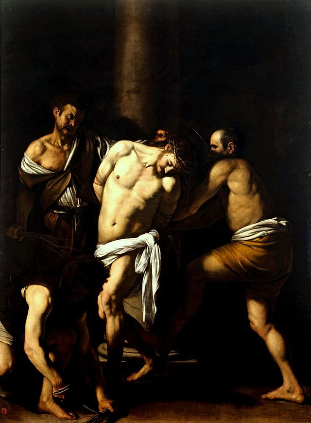 640px-Caravaggio_-_La_Flagellazione_di_Cristo